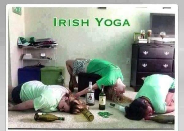 Irish Yoga. . IRISH YOGA