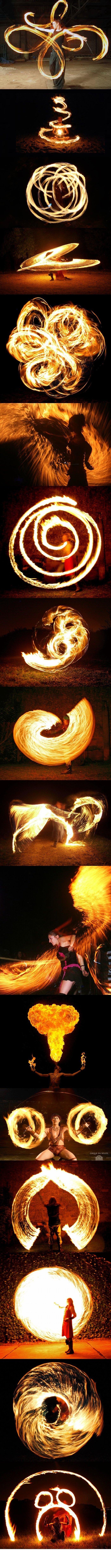 IRL Firebenders. Fire Bending level : Azula.. IRL waterbenders