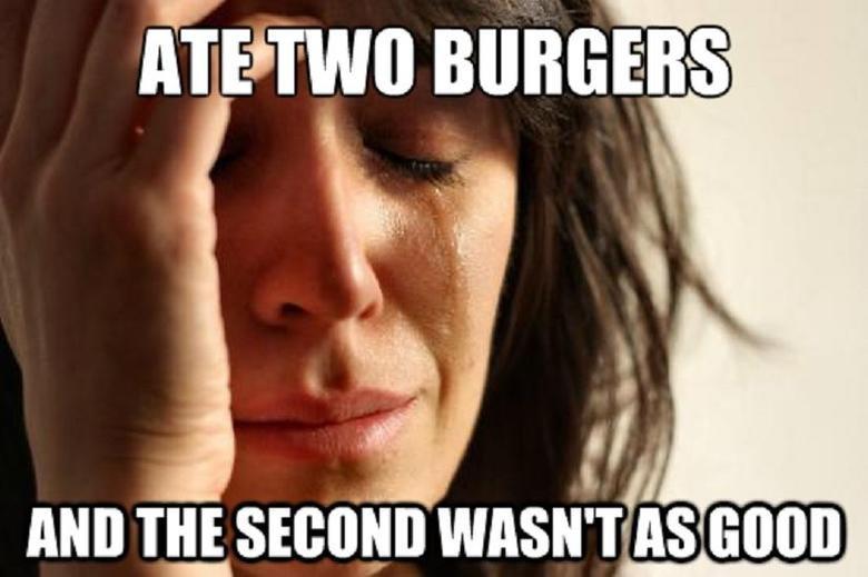 it happens. .