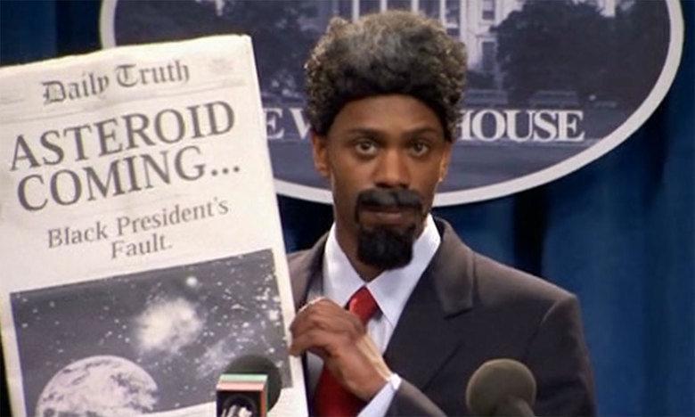 It's bound to happen Obama. .