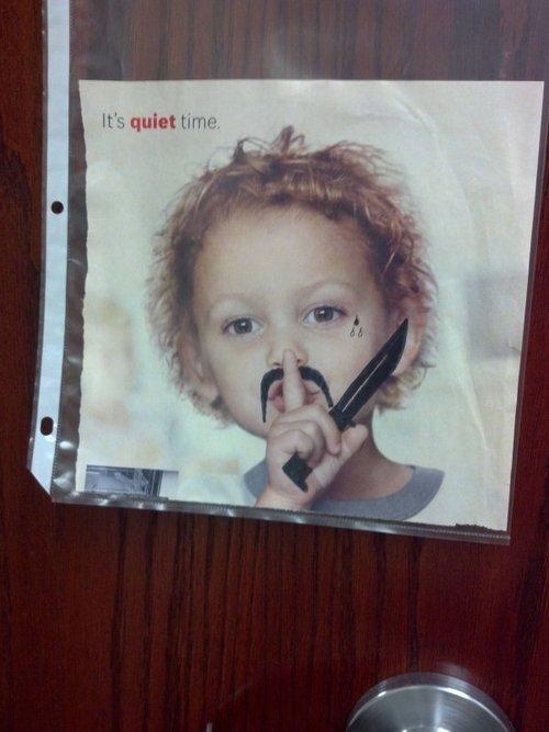 It's quiet time. Ssshhhhhhhh. M. quiet. is that lil wayne's new album?
