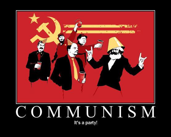 IT'S A PARTY. Communism, its a party, JOIN IT.. i have tat shirt lol communism nipples ninjas Robots