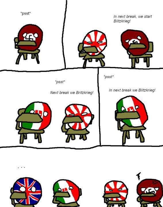 Polandball Comics Italy+stronk.+Mussolini+is+glorious+leader+of+Kingdom+of+Italy_62f912_4913282