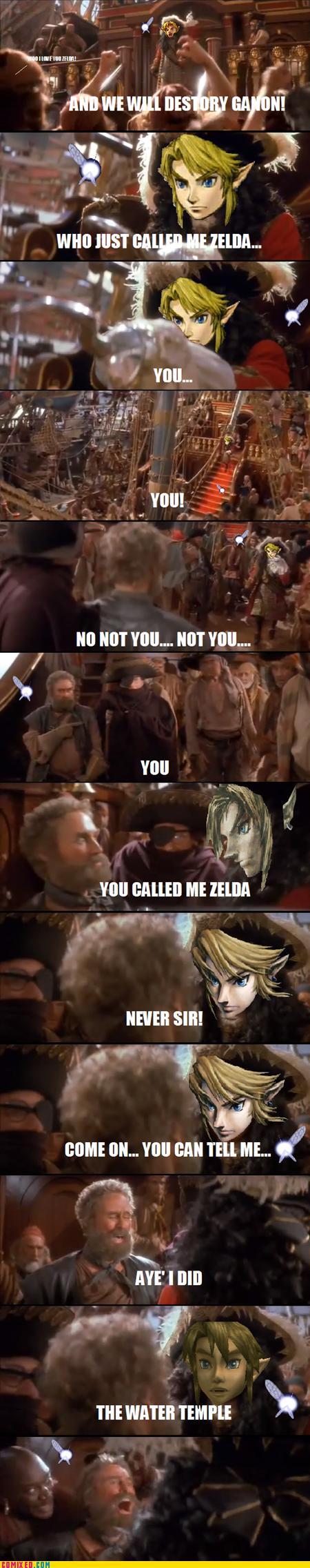 Its Link Dammit. .. hell hook was badass!