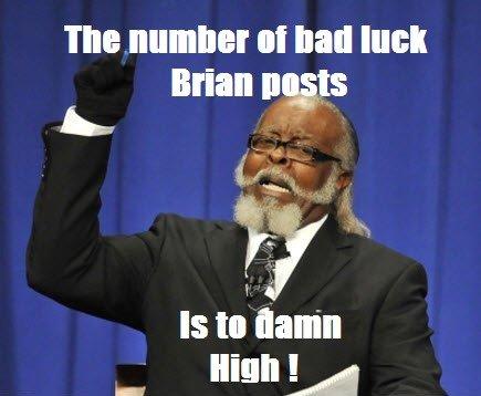 "Its to damn high !!. Tags.. the number III luau luck Brian iro r. IS ti"" damn. too"