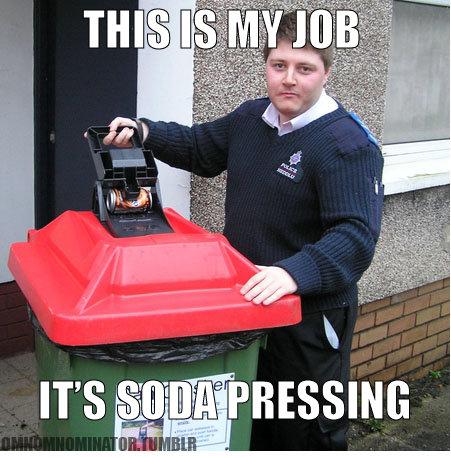 Its...its... Soda Pressing. Alli,