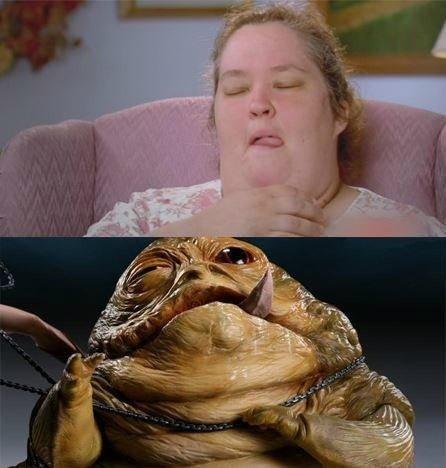 Jabb. .. Jabba la no hooki Boo Boo! Hue hue hue!