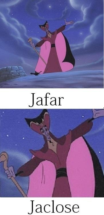 Jafar.. .. Jaffa! Kree! Jafar aladdin funny