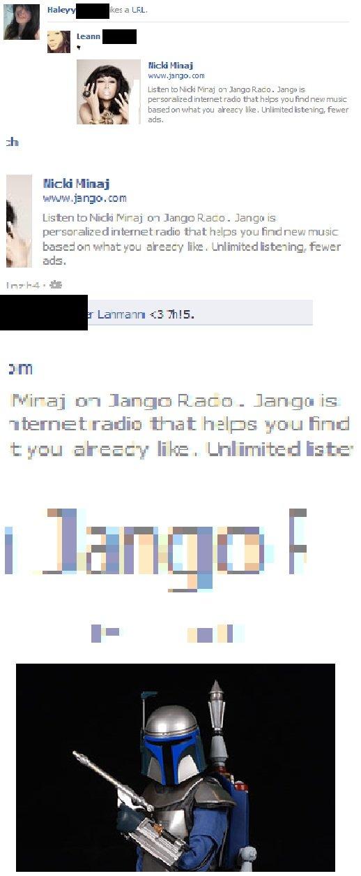 Jango Radio. Thought of Jango Fett. jango Fett star wars