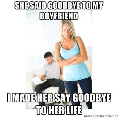 Jealous Girlfriend. .