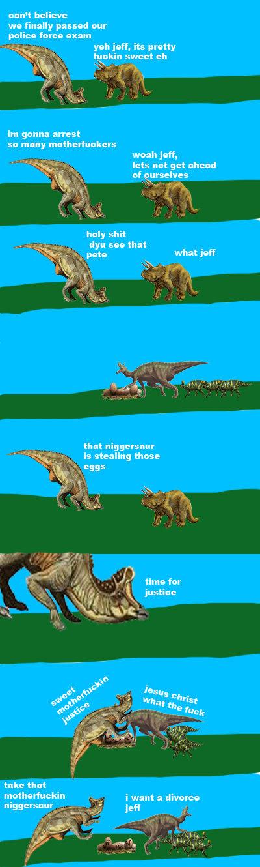 jeff and pete 3. . dinosaur jeff pe