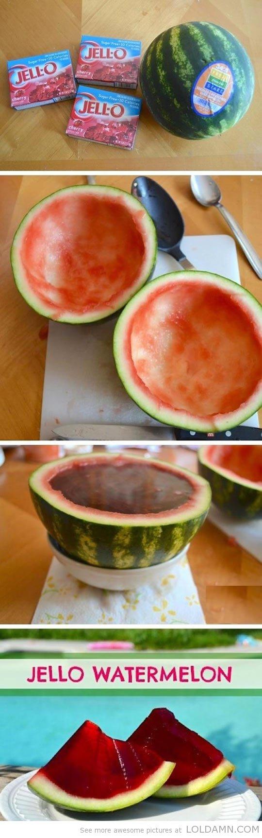 Jello Watermelon. . lta. Why did you get CHERRY?!?1 WHY NOT WATERMELON jelly watermelon delicious