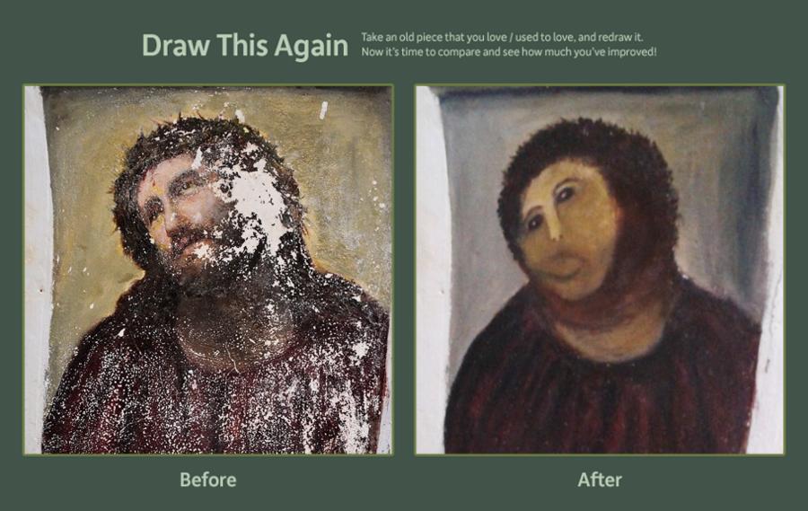Jesus Make Over. I laughed.....