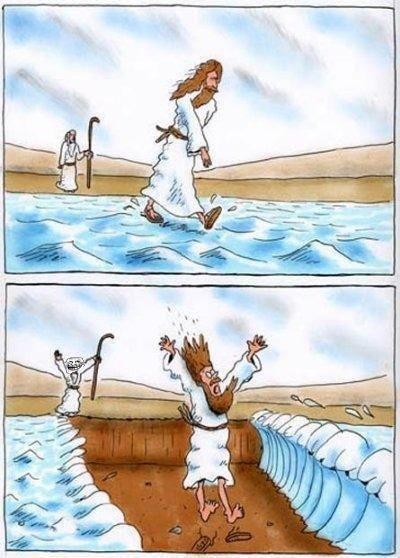 Jesus Moses. .