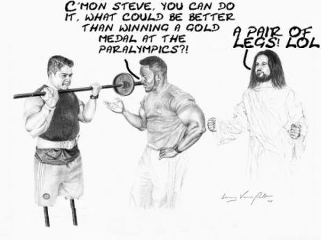 Jesus strikes again. . C.' gettit STEVE. 'NIH CAN Det THEN H thaat new er was 222%