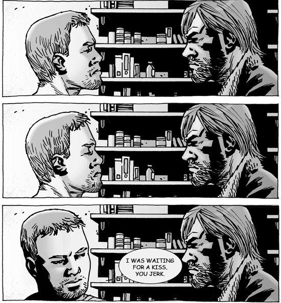 Jilted. .. Walking Dead!