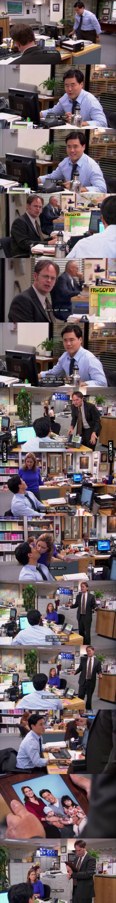 Jim. source: The Office. ree. tiill' q HEY, rais -EFF ili FOR NOT SCEEN I ilgili' it If TOO tatl' T Hanna Hm? , 5