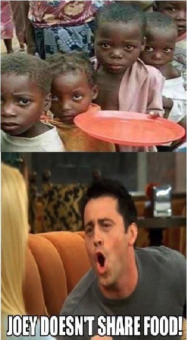 Joey Food. . Friends