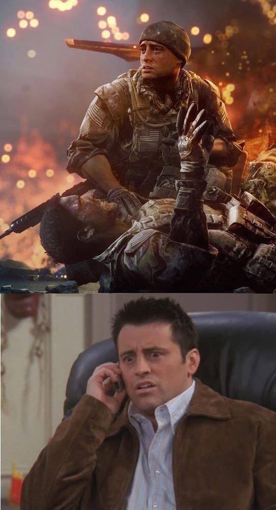 Joey!!!!!. .. I wonder who's side he's on