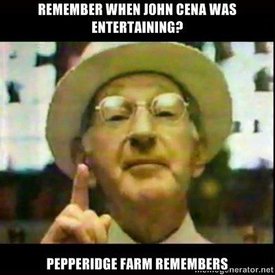 JOHN CENA. Remember when he was UNITED STATES CHAMPION?.. Never heard of him. john cena rememb