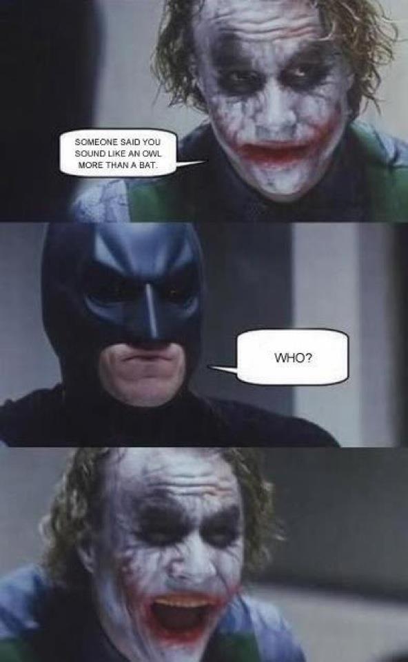 "Joker Trolling. enjoy. lil an "" H bi an In PL tit , tolm"" L (lim OMB Ehhr, Watr: an WT batman joker trolling"