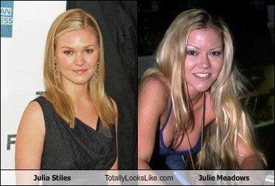Julia Stiles Looks Like Julie Meadows. .. So what?