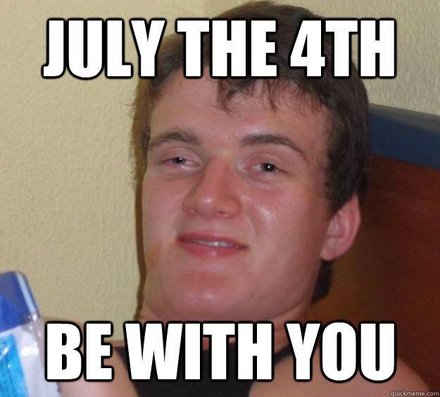 July 4th. .