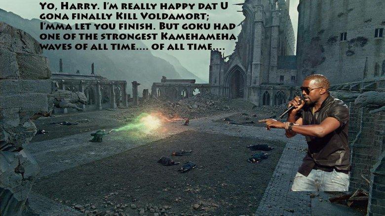 "Kanye Kame. . Stilts, FINALLY mm ""i' Zii! , lliw', KAMEHAMEHA. This really would have helped Harry."