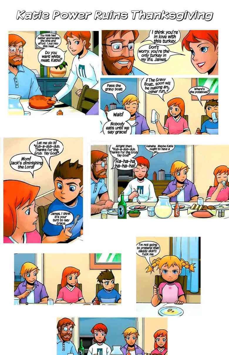 Katie ruins thanksgiving. Stupid Katie.
