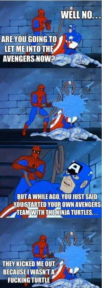 """Keen for a spiderman thread.. Spiderman thread?. Elli VIII] WING a; les ili ct? HUT ll Milli HEB, JUST Mill HIHIHIH """"ts-. earlier..."""