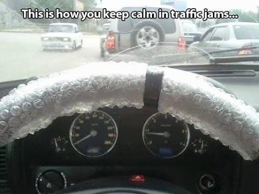 Keep calm and pop bubble wrap. .. Id go mental...