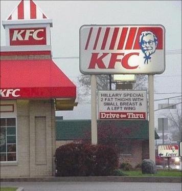 Kentucky Fried Clinton. . Hillary Clinton Presidents obama