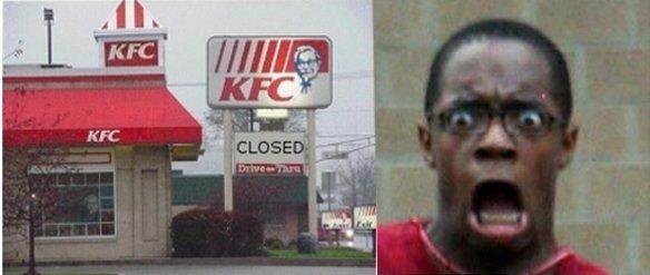 Kfc Black Person: Kfc