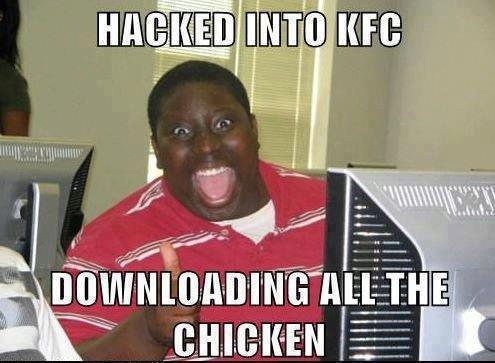 KFC. .