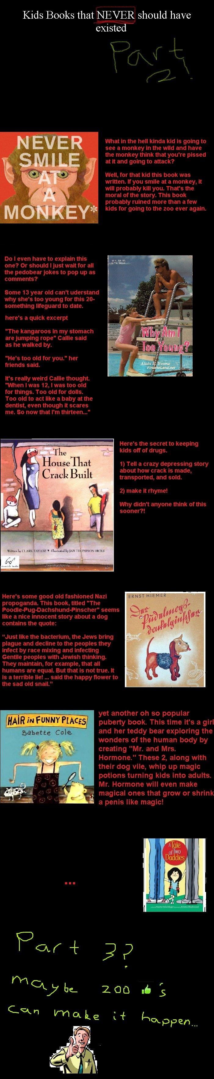 kids book comp part 2. Part 3 is here! funnyjunk.com/funny_pictures/1441320/Kids+book+comp+part+3/<br /> And something else I made funnyjunk.com/funny_pic