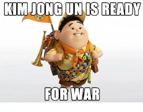 Kim Jong Un. .