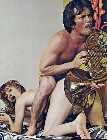 Kinky. .. I guess he's HORNy. Tuba Porn
