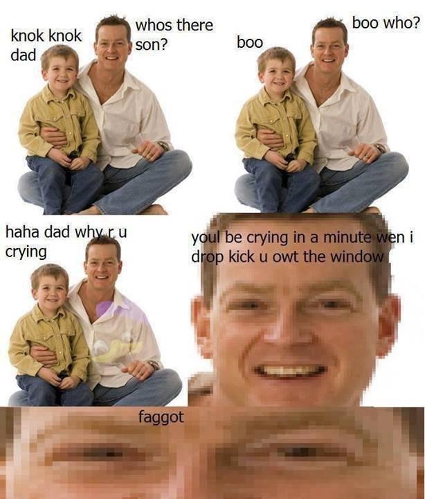 Knok knok. . ham dad w