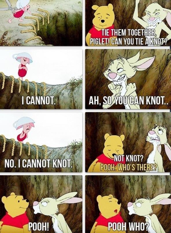 Knot and not. . I Me HIE} it IE THEM TOGETHER Nal I Nil IAF TICKIN MI I