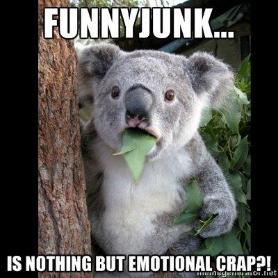 Koala Feels. .. Making fun of a channel inside its own channel? BRILLIANT IDEA