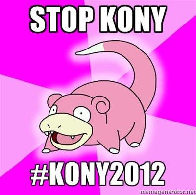Kony 2012 rofl. word.