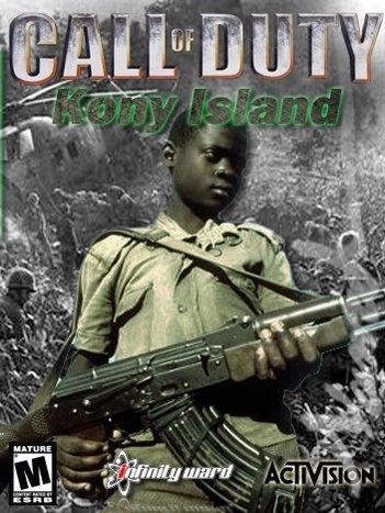 "Kony Island. Oh yeah I went there..... HI' I"" LISHE Kony Uganda lol The Game invisible childr"