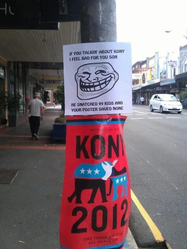 Kony Problems. doo doo.. I love this