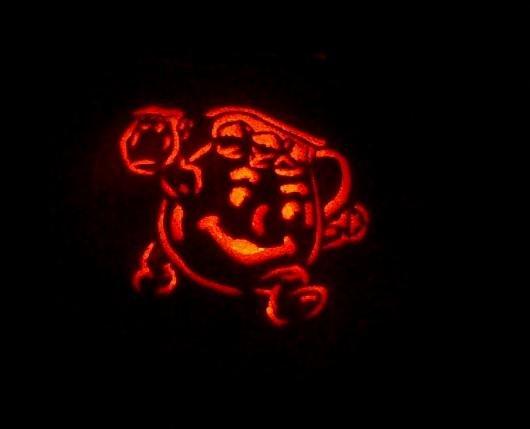 Kool-aid Man Pumpkin. Oh yeah!.
