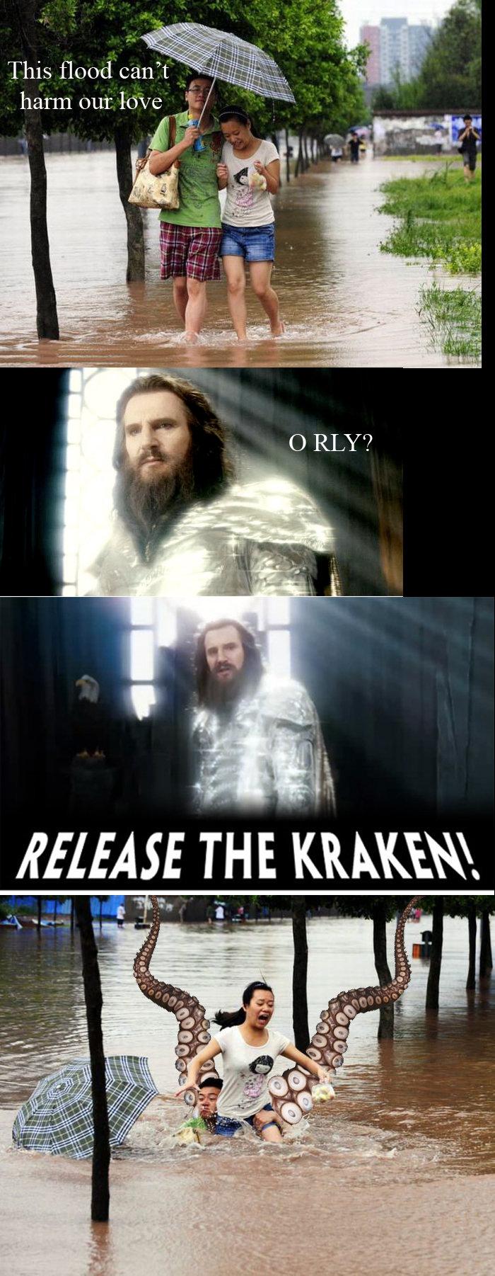 Kraken. OC dammit. flol. uni, THE ,. I know where this is going... kraken