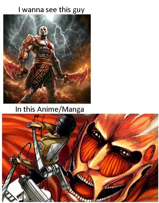 Attack on Titan God Meme Attack on Titan God Meme