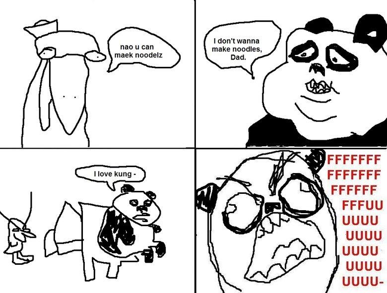KUNG FUUUUUUUUUU. HHHHHHNNNNNNNNNNNGGGGGRRRR. iii, new u can maek I don' t wanna make noodles, UGUU UGUU JUURU UGUU-. okay okay....wait... duck + ??? = Panda? kung fuuu