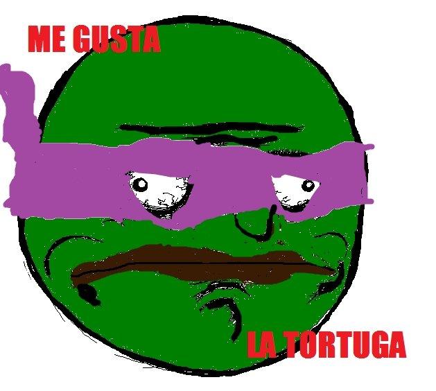 La Tortuga. I like Turtles.
