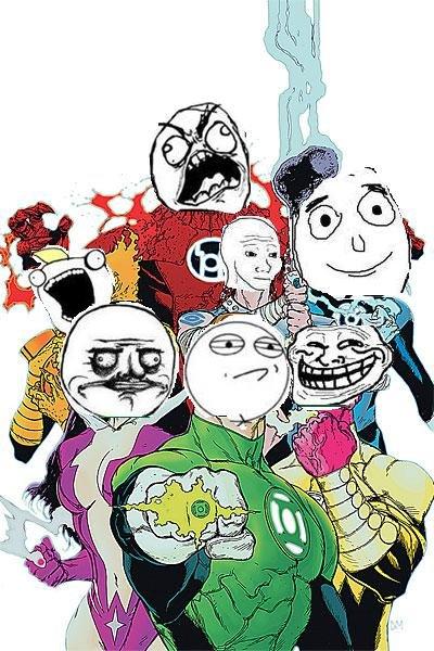 Lantern Meme Corps