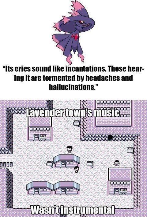 Lavender Town :). You now have a newfound fear of Mismagius. D:. lavender town Music kanto Mismagius